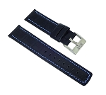 1004 Top Grain Leather Watchband (Wide Size 26mm)