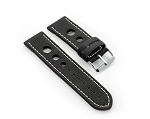 35 Top Grain Leather Watchband (Sportive)