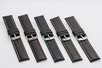 78 Top Grain Leather Watchband (Wide Sizes 26mm and 28 mm)
