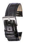 1005 Croco Embossed Top Grain Leather Watchband 1001 (Wide Size 26mm)