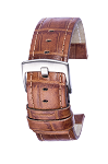1005 Croco Embossed Top Grain Leather Watchband (Prime)