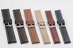 70 Top Grain Leather Watchband 70 (Wide Sizes 26mm and 28 mm)