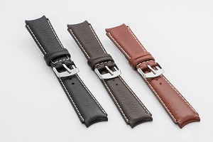 45 Top Grain Leather Watchband (Sportive)