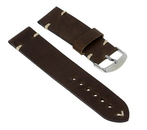 1006 Vintage Top Grain Leather Watchband (Wide Size 26mm)